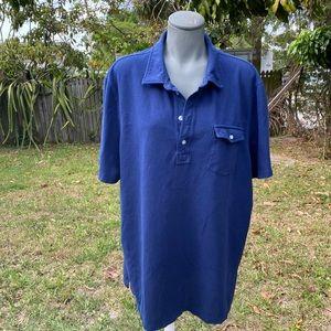 Vineyards Vine Garment-Dyed Island Polo Size XL